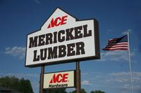 Store Front Merickel Sign