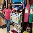 Store Supervisor Vanessa Briceno