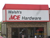 Store Front Walsh's Ace Hardware, Muscoda, WI