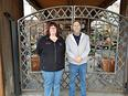 Manager Kathleen Collins & Fred Bott