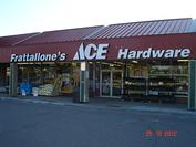 Store Front Frattallone's Ace Hardware Blaine