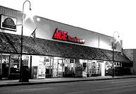 Store Front Bever's Ace Hardware