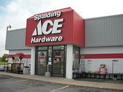 Store Front Spalding Ace Hardware