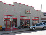 Store Front Kingfisher Ace Hardware