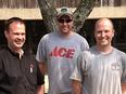Owner Darin, Brad, and Seth