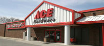 Store Front Rocky's Ace Hardware