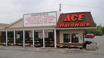 Store Front G & M Ace Hardware
