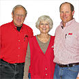 Owner Chuck, Peggy & Todd Steadman