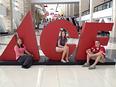 Buying trip McKenzie, Stephanie and Brian
