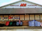Store Front Tompkins Ace Hardware