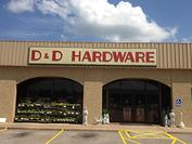Store Front D&D Ace Hardware Appliance and Service Center