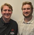 Owner Richard and Eric Hassett