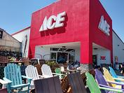 Store Front Saine Ace Hardware