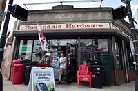 Store Front Roslindale Hardware
