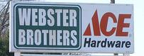 Store Front Webster Brothers Hardware