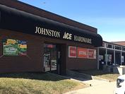 Store Front Welcome to Johnston Ace!