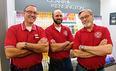 Manager Jim, Nick, Robert