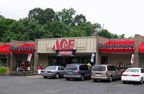 Store Front Morganton ACE Hardware