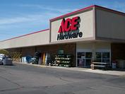 Store Front Ace Hardware, Rapids