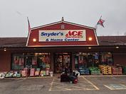 Store Front Snyders Ace Hardware Store Front