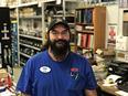 Lumberyard Manager Tobin Chaney