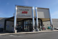 Store Front Miller's Ace Hardware