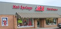 Store Front Hot Springs ACE Hardware