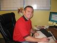 Manager Chris Barton