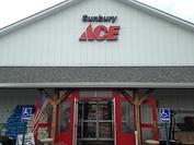 Store Front Sunbury Ace Hardware