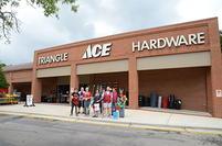 Store Front Traingle Pharmacy Ace Hardware Woodcroft