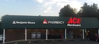 Store Front Triangle Pharmacy Ace