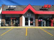Store Front Five Star Ace