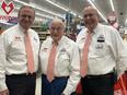 Owner Chris, Larry Sr., Larry Jr.