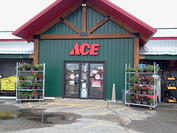 Store Front STAPLES ACE HARDWARE