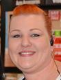 Manager Sarah Carr