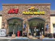 Store Front Joe's Ace Hardware