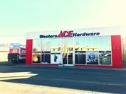 Store Front Western Ace Hardware
