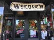 Store Front Werner's ACE Old Sign