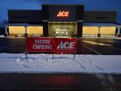 Store Front Legacy Ace Hardware and Sporting Goods
